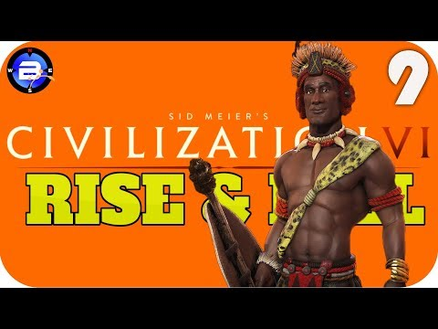 PEACE AT LAST!! ▶Civilization VI RISE & FALL FULL RELEASE◀ EP9 Civ 6 Rise and Fall Gameplay