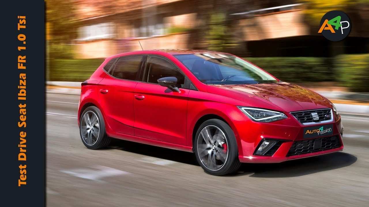 seat ibiza fr 2018 1 0 tsi 95 cv test drive youtube