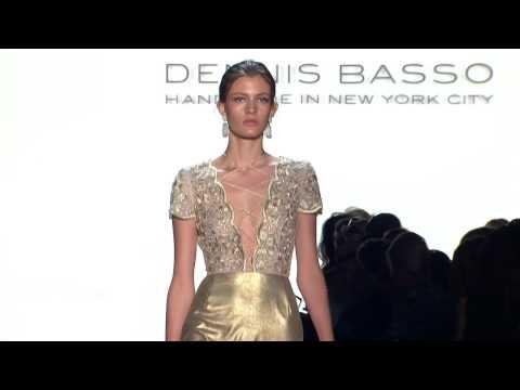 Dennis Basso Spring 2016 Ready-To-Wear NYFW