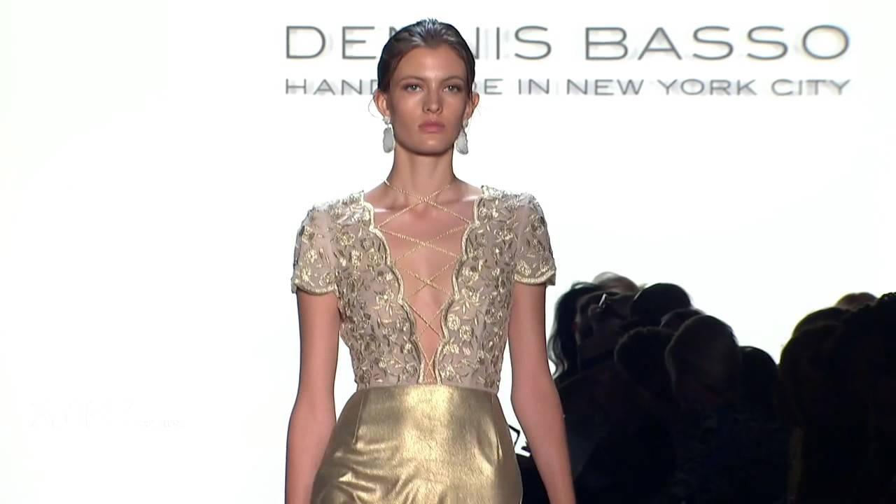 Dennis Basso Spring 2016 Ready-To-Wear NYFW - YouTube