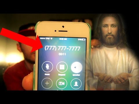 how to call jesus phone number