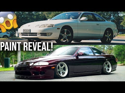 THE SOARER'S CANDY PAINT JOB IS FINALLY DONE!