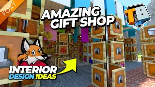HOW TO BUILD A GIFT SHOP   Truly Bedrock Season 2 [82]   Minecraft Bedrock Edition