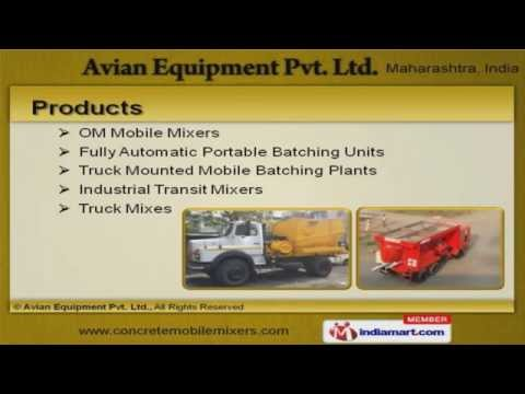 Construction Machines By Avian Equipment Pvt. Ltd., Pune