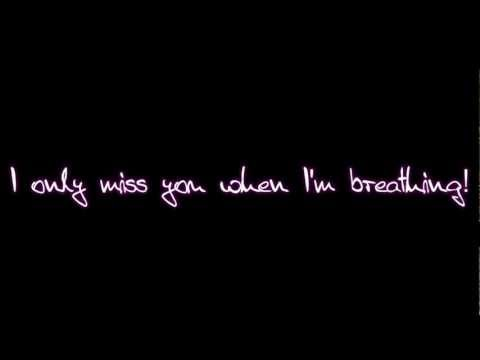 .. I Only Miss You When I'm Breathing! ♥ // Jason Derulo - Breathing