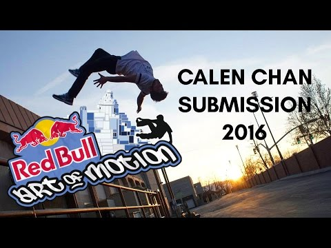 Calen Chan - Red Bull Art of Motion Submission 2016 | YGT Freerunning