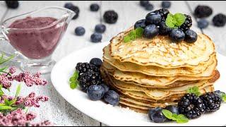 КОКОСОВЫЕ БЛИНЫ НА МАСЛЕНИЦУ | Простой рецепт блинов | Самые Вкусные Рисовые Блины