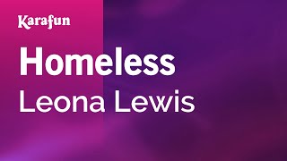 Karaoke Homeless - Leona Lewis *