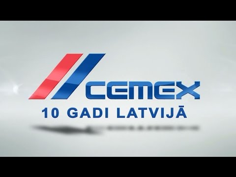 CEMEX 10 gadi Latvijā