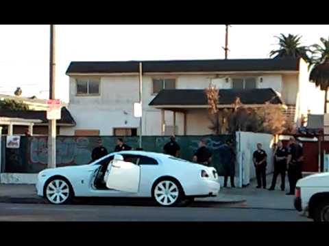 tyga  Arrested in south central Los Angeles