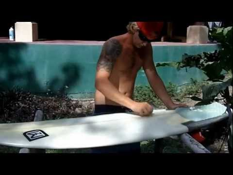 Surfing Tutorial: How to get a great wax job!