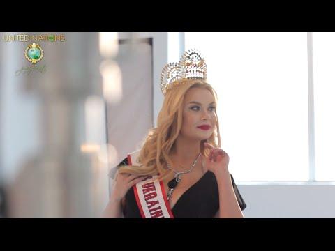 Lora Superfin - Mrs Ukraine United Nations 2016 (backstage video)