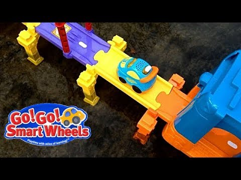 Smart Wheels City: Our Longest Smart Wheels Bridge EVER! Vtech Go! Go! Smart Wheels Toys