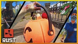 Rust Halloween 2019   How Event Works, In Game & Store Items Explained #142 (Rust Updates)
