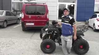Видео обзор квадроцикла Comman Hamer ATV200