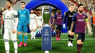 This video is the gameplay of barcelona vs real madrid uefa champions league final 2019 please like and subscribe