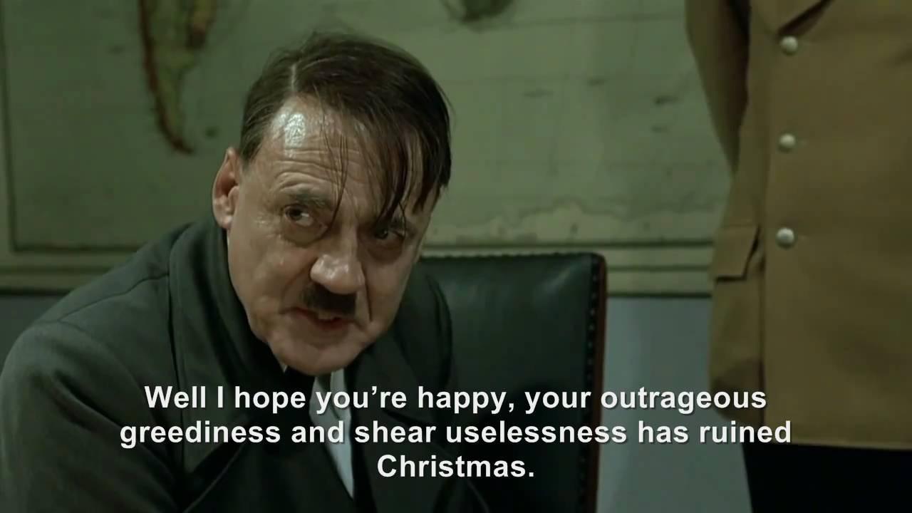 Hitler Christmas rant