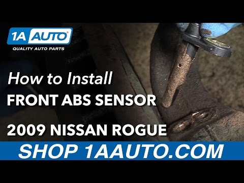 How to Replace Front ABS Sensor 07-13 Nissan Rogue