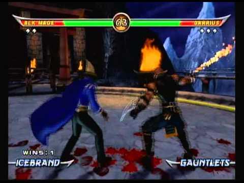 Mortal Kombat Armageddon Black Mage From Final Fantasy