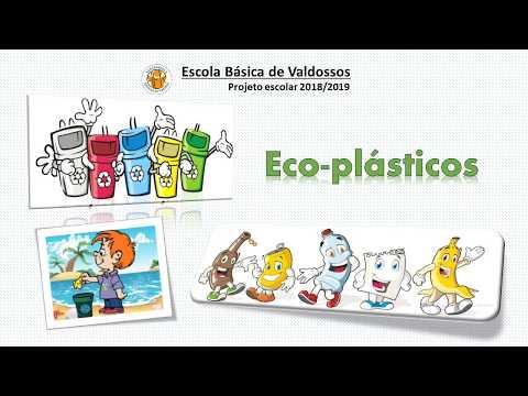 Projeto escolar Eco-plásticos - EB de Valdossos, Fradelos - VNF