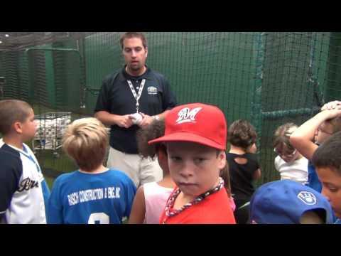 Boys Rangers Baseball Team Miller Park Tour