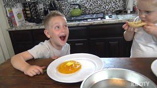 Kids Play Gummy Food vs Real Food Challenge 3!!! Gross Family Fun!