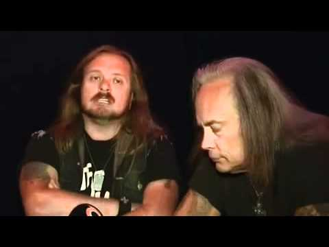 Johnny Van Zant & Rickey Medlocke -Lynyrd Skynyrd- MTV3 interview (2009) part 1