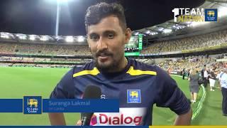 Suranga Lakmal on Day 2 of the 1st Test - Sri Lanka tour of Australia 2019