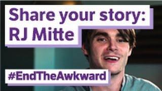 Breaking bad's rj mitte wants you to share your #endtheawkward story