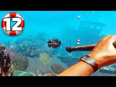 Stranded Deep - Part 12 - Lion Fish Hunting (Poisonous)