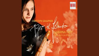Overture for Recorder, 2 Violins, Viola and Basso Continuo in F Major, GWV 447: I. Largo
