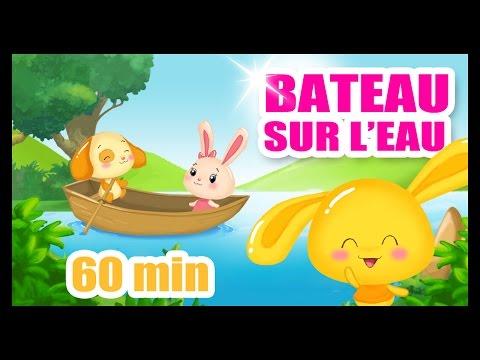 Bateau sur l'eau - 1h de comptines et chansons Titounis pour les enfants