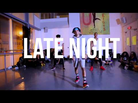 Gold Link Ft Masego - Late Night - Choreography by Sheldon Silvers