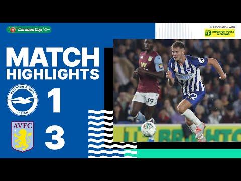 Brighton & Hove Albion 1 Aston Villa 3