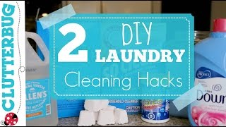2 Quick and Easy DIY Laundry Hacks