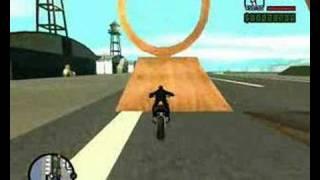GTA San Andreas SAMP Bike Stunt