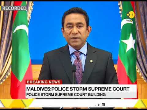 Maldives: Police storm Supreme Court