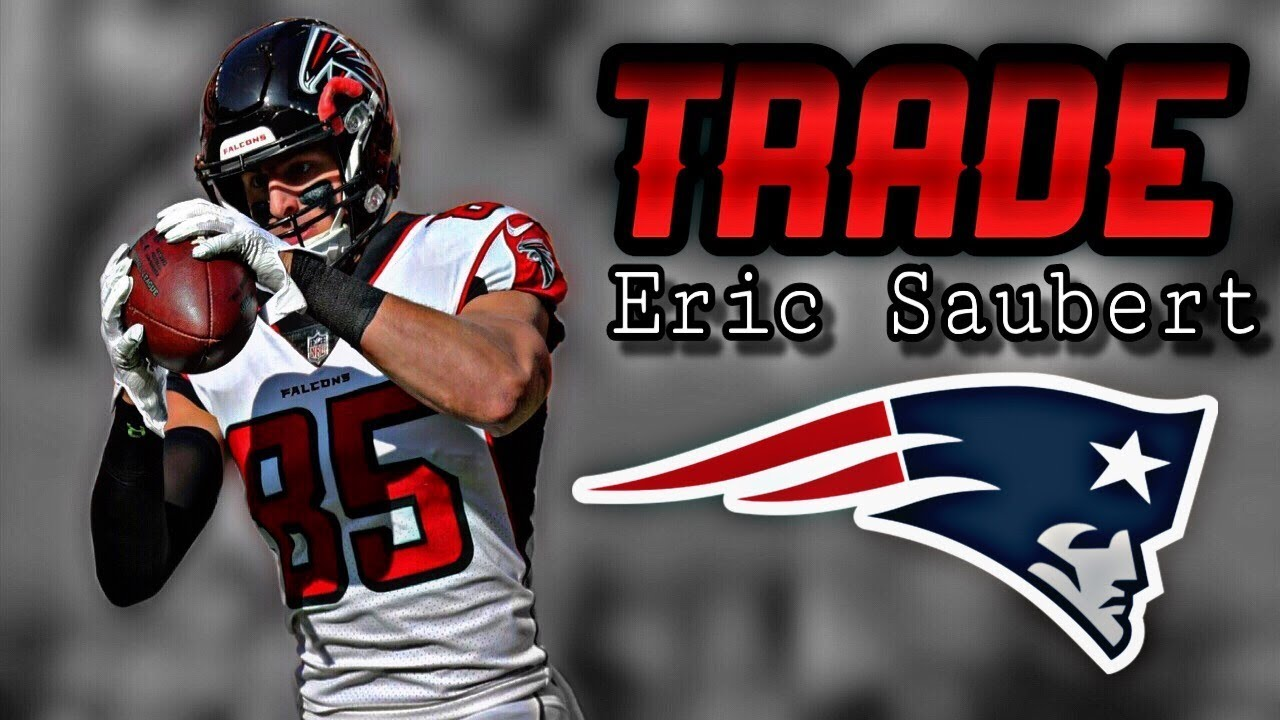 Falcons trade TE Eric Saubert to Patriots for draft pick