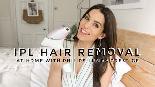 IPL Hair Removal at Home | Review of New Philips Lumea Prestige | AD