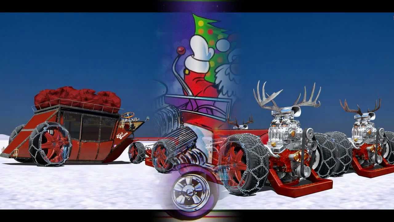 Santas Got A Hot Rod YouTube