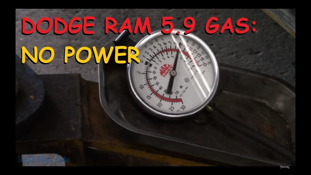 Dodge Ram 5 9 Gas: No Power, Engine Bogs Down