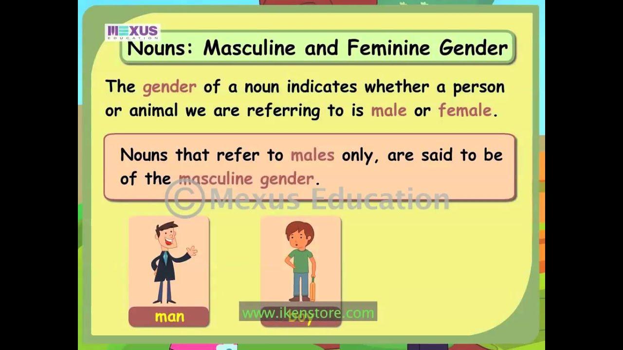 hight resolution of Common Gender   English Grammar   iken   ikenedu   ikenApp - YouTube