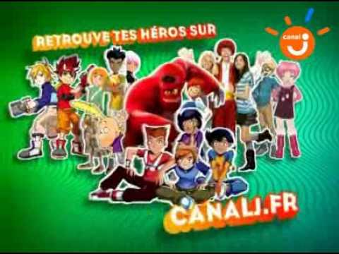 Canal j dessin animé 2010