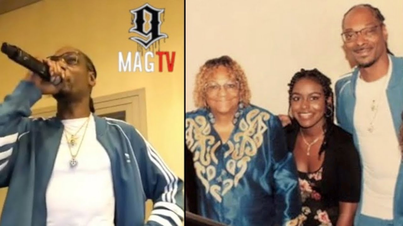 Snoop Dogg DJ's At His Family Reunion On IG Live!