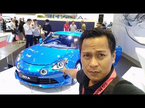 Alpine A110 kereta impian Cardock, Singapore Motorshow 2019 | EvoMalaysia.com