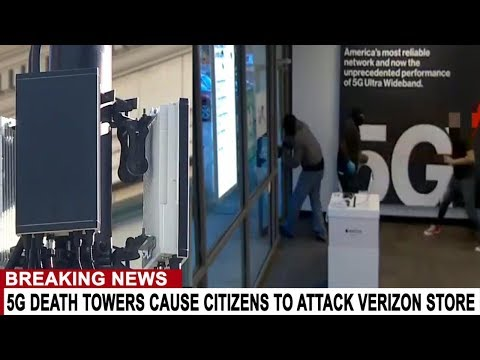 BREAKING: DISPUTED 5G CELL TOWER LOCATION LEADS TO HOSTAGE SITUATION AT VERIZON STORE