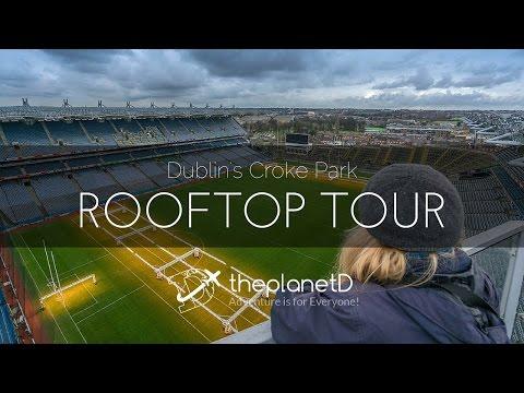 Dublin's Croke Park Rooftop Tour | Travel Vlog