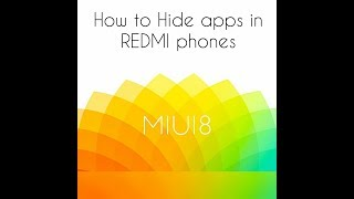 How to hide apps in any redmi phone |No root