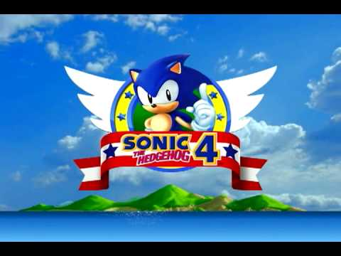 sonic 4 title screen mockup youtube. Black Bedroom Furniture Sets. Home Design Ideas