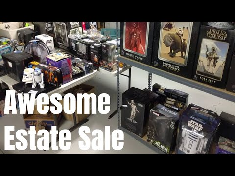 Retro Games + Star Wars Found at Estate Sale | RIGGS